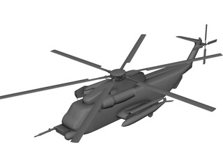 Sikorsky MH-53J Pave Low III 3D Model