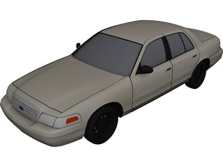Ford Crown Victoria (2000) 3D Model