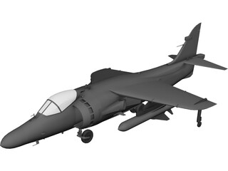 BAE Sea Harrier Mk.2 3D Model