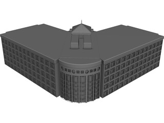 State Building 3D Model