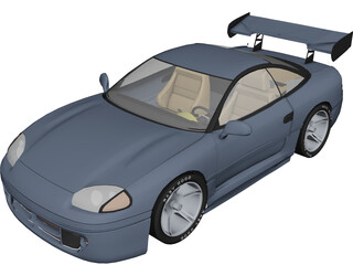Mitsubishi 3000GT [Tuned] 3D Model