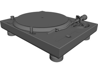 Turn Table 3D Model