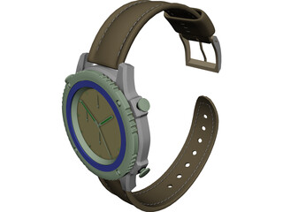 Watch Citizen 3D Model