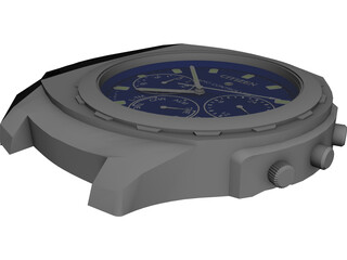 Watch Citizen Radio Controlled 3D Model