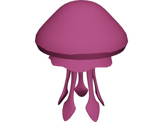 Jelly Fish 3D Model