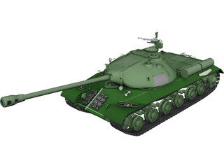 IS-3 Heavy Tank 3D Model
