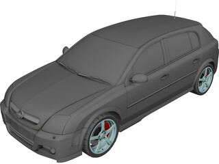 Opel Signum 3D Model 3D Preview