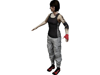 Faith [Mirrors Edge] 3D Model