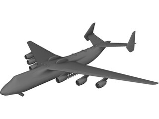 Antonov An-225 Mriya 3D Model