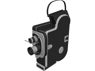 Camcorder Vintage 3D Model