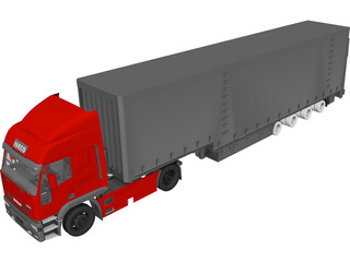 Iveco Eurotech 3D Model