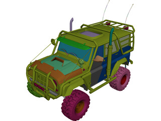 Jeep [Tuning] 3D Model