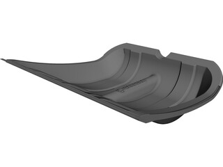 Shovel CAD 3D Model