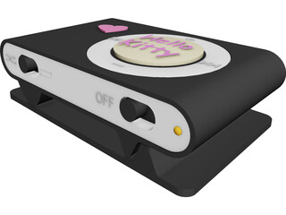 Ipod Kitty 3D Model