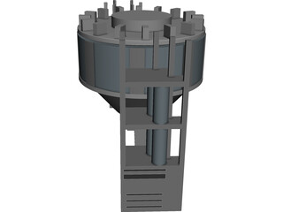 Steel-Concrete Bond CAD 3D Model