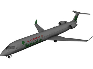 Bombardier CRJ-705 Air Canada Jazz 3D Model