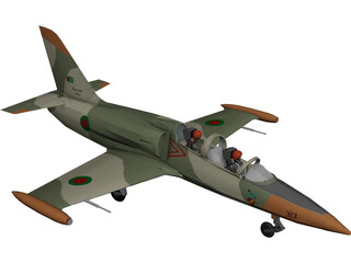 Aero L-39 Albatros Bangladesh Air Force 3D Model