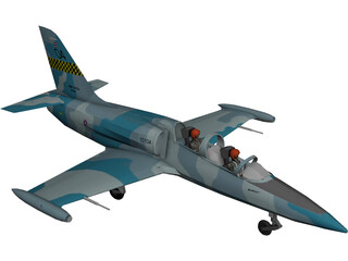 Aero L-39 Albatros Royal Thai 3D Model