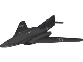 Messerschmitt Me 262 HG III 3D Model