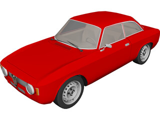 Alfa Romeo Julia GTA 3D Model