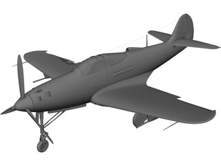COBRA Airplane 3D Model