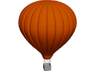 Air Sphere Balloon 3D Model