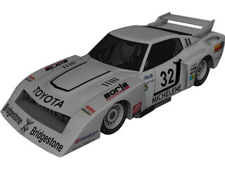 Toyota NASCAR Turbo 3D Model