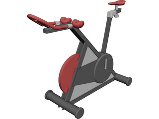 Bike Machine 3D Model