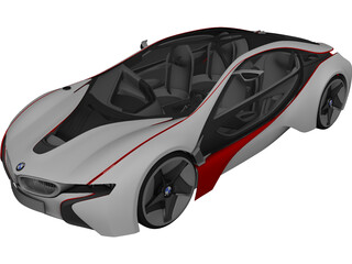 BMW Vision Efficient Dynamics Concept 3D Model