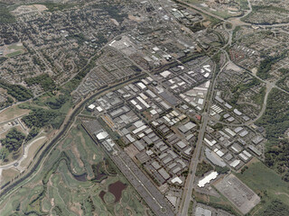 Redmond City, North 3D Model
