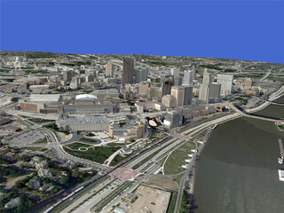 St. Paul City 3D Model