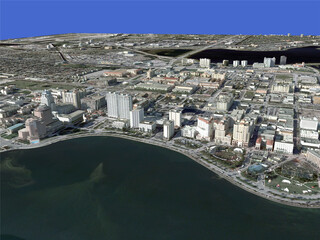 West Palm Beach City 3D Model