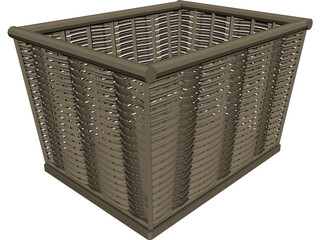 Basket 3D Model 3D Preview