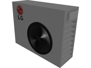 Air Conditioner LG Ext 3D Model