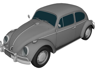 Volkswagen Beetle 3D Model