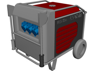 Generator Honda EU65is CAD 3D Model