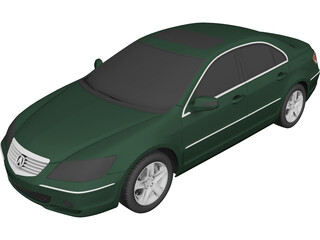 Acura RL (2005) 3D Model 3D Preview