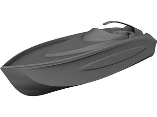 Seaboat CAD 3D Model