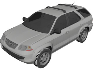 Acura MDX (2002) 3D Model 3D Preview