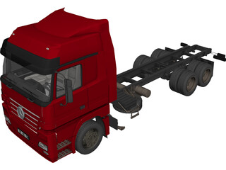 Mercedes-Benz Actros 3D Model