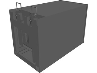 Container CAD 3D Model
