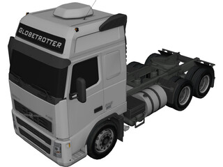 Volvo FH12 Globetrotter (2006) 3D Model