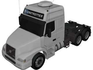 Volvo NH12 Globetrotter (2004) 3D Model