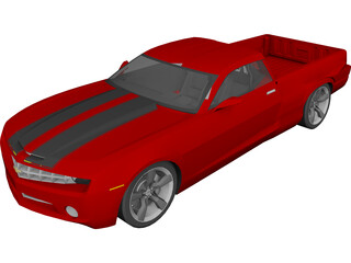 Chevrolet Camaro Elcomino (2010) 3D Model