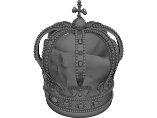 Russian Crown 3D Model