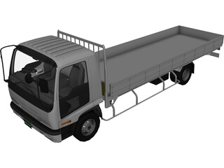 Isuzu Forward V Cargo (1998) 3D Model