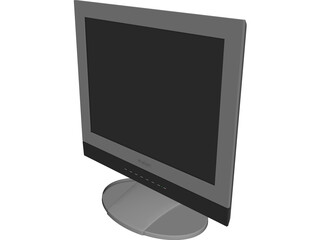Monitor ViewSonic vx2000 CAD 3D Model