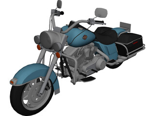 Harley-Davidson Road King 3D Model
