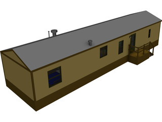 Home Mobile 16 Wide 3D Model