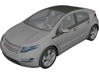 Chevrolet Volt 3D Model 3D Preview